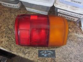 1992-1995 TOYOTA 4RUNNER DRIVER LEFT  SIDE TAIL LIGHT 35-37 R YOTA YARD - $48.51
