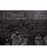 PHILA EAGLES HALL of FAMER CHUCK BEDNARIK SIGNED INSCRIBED FRAMED PHOTO - $34.65