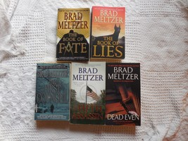Lot of 5 Suspense Conspiracy novels by Brad Meltzer - $7.91