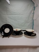 Lot of 2 Adderley cups and saucers bone china England  - $33.53