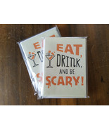 CLEARANCE!  Halloween PARTY INVITATIONS **20 Cards + Envelopes** Adult H... - $0.98