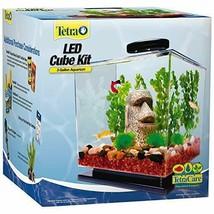Tetra LED Cube Shaped 3 Gallon Aquarium with Pedestal Base - $86.46
