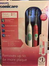 Philips Sonicare HX6252/72 Plaque Control Sonic Toothbrush 2 Color Limited