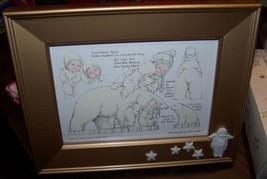 """Snowbabies Frame - Friendship Club 1998-99 - 9.25"""" x 7.25"""" -Excellent Co... - $16.99"""
