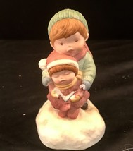 "Avon ""Joy To The World"" Music Box Figurine 1985 - $10.63"