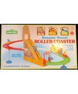 Sesame Street ROLLER COASTER with BIG BIRD, ERNIE & COOKIE MONSTER (VINT... - $30.04