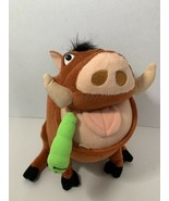 Disney The Lion King Feed Me Pumbaa talking warthog interactive plush ea... - $7.91