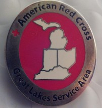 American Red Cross Great Lakes Service Area Pin (RARE) - $7.95