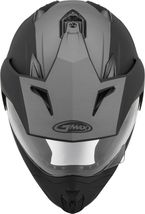 New XL GMax GM-11 Scud Matte Black/Orange/Gray Dual Sport Adventure Helmet DOT image 3