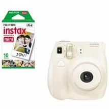 Fujifilm Instax MINI 7s Instant Film Camera (White) - $57.89