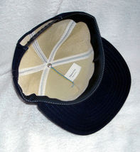 Mens Propane Industrial hat snap back Made in USA blue image 4