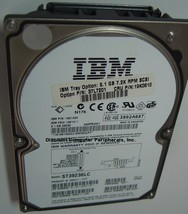 "Seagate ST39236LC IBM 19K1460 9.1GB 3.5"" SCSI 80PIN Drive Tested Free USA Ship"