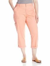 LEE Women's Plus Size Relaxed Fit Presley Knit Waist Capri Pant - $44.99
