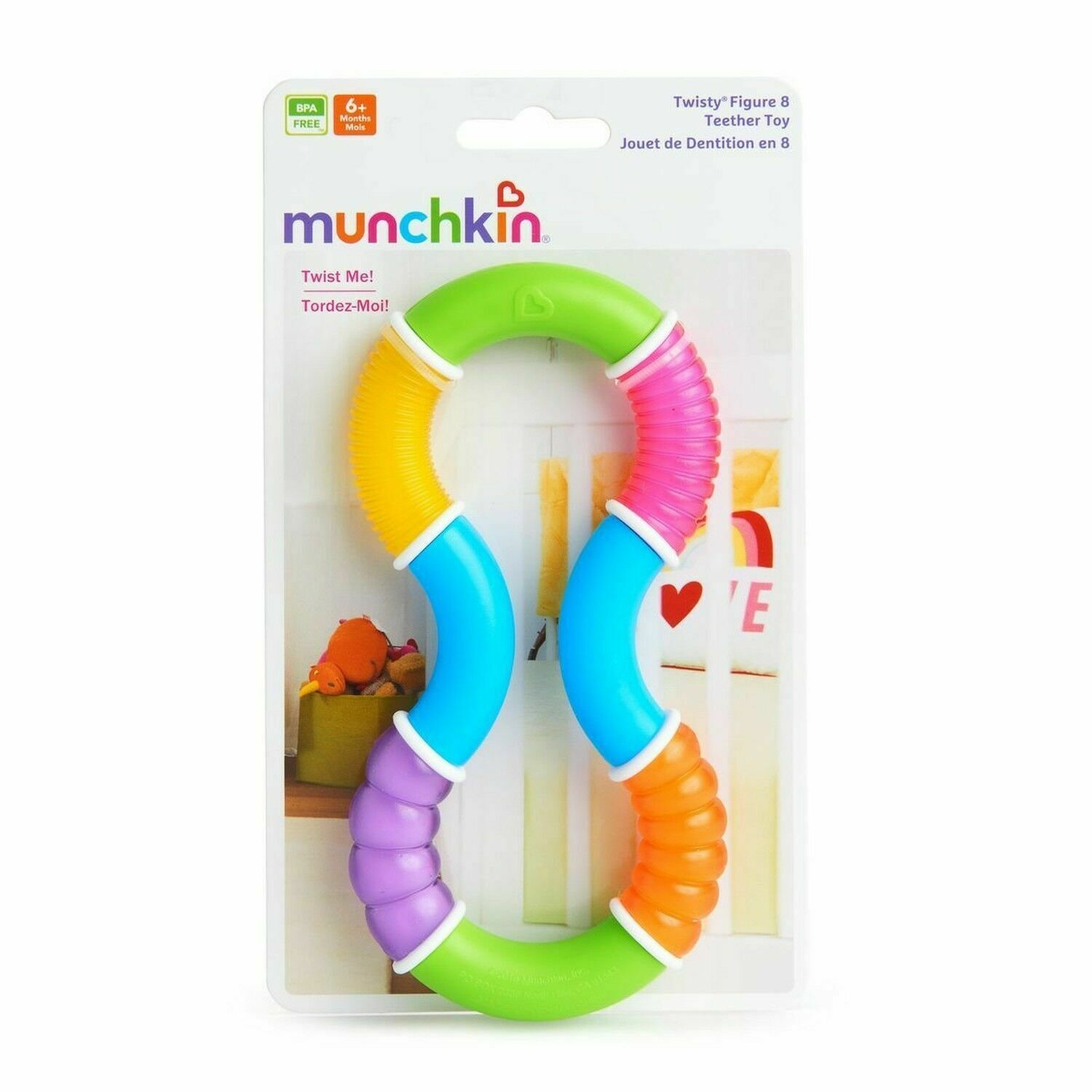 Primary image for Munchkin Teether Toy Twisty Figure 8