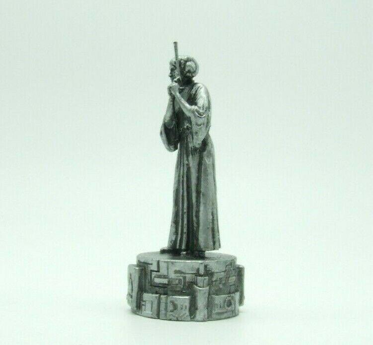 Star Wars Saga Edition Silver Princess Leia Bishop Chess Replacement Game Piece image 7