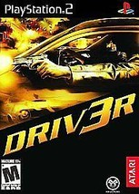(2 game lot) PS2 Driv3r Driver Bundle: 3 AND Parallel Lines Complete CIB - $24.73