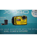 Fujifilm Finepix XP140 16.4MP Water Proof Camera with 64GB SD Card & Cas... - $189.99