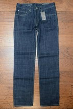 Armani Exchange A|X Men's Straight Fit Navy Cotton Jeans 31R W31 L32 - $59.39