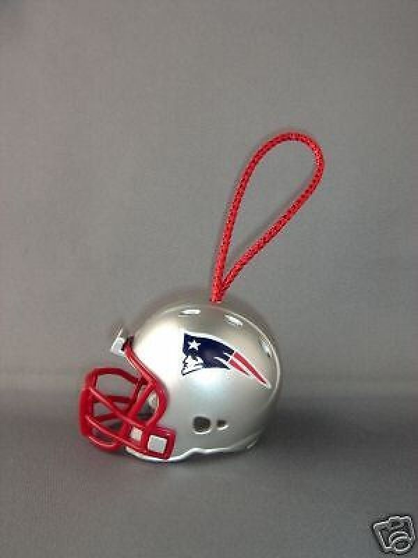 NEW ENGLAND PATRIOTS NFL FOOTBALL HELMET CHRISTMAS XMAS ORNAMENT #1