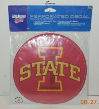 """Wincraft Iowa State Cyclones 8"""" x 8"""" Perforated Decal College NCAA - $14.03"""