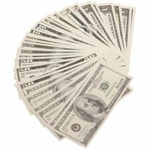 PROP MOVIE MONEY - $1860 Series 2000 Mixed (60) Bill Pack - $16.99