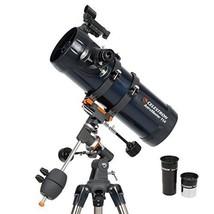 Celestron 31042 AstroMaster 114 EQ Reflector Telescope Telescopes Binocu... - $213.92