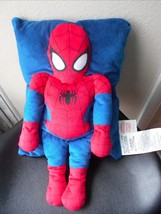 Marvel Plush Pillow Comics Spiderman 11 x 17 EUC CUte - $15.79