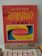 Milton Bradley Jeopardy Game Fourth Edition 1964 - $14.80