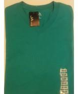 John Ashford JA Mens T-Shirt V-Neck Top Short Sleeve Solid Green Size S ... - $18.17