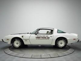 1980 PONTIAC TURBO TRANS AM PACE CAR POSTER | 24 x 36 INCH | CLASSIC CAR  - $18.99