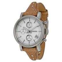 Fossil Original Boyfriend Chronograph White Dial Ladies Watch ES3625 - $234.60
