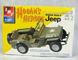 "AMT/ERTL 60'S Tv ""Hogan's Heroes"" Wwii Military Jeep Car Model Kit New! - $29.69"