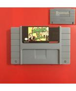Zombies Ate My Neighbors - SNES Super Nintendo USA Reproduction Cart - H... - $13.99