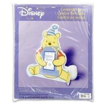 Pooh's 1st Birthday Girl Photo 11in Centerpiece - $8.86