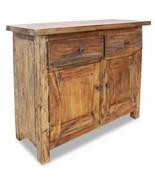 vidaXL Sideboard 2 Doors 2 Drawers Solid Reclaimed Wood End Cabinet Cupb... - $139.99
