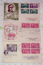 3 US SC# 930-932 President Franklin Roosevelt Issue Postage First Day Co... - $15.07