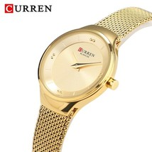 CURREN Women Watches New Luxury Brand Analog Clock Watch Ladies Waterproof Stain - $41.56