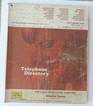 Telephone Directory 1966 Ohio Area 513 Bellefontaine Indian Lake Cities ... - $18.95