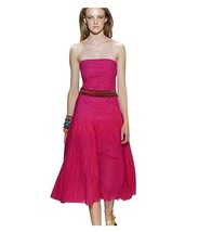 Diane von Furstenberg Sheryl Runway Strapless Dress 2 X-small Pink long dresses - $36.78