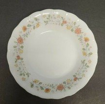 """Sheffield BOUQUET Porcelain Fine China Floral White Swirl Bowl 5.5"""" Replacements - $7.84"""