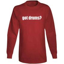 Got Drums Drummer Musician Long Sleeve T Shirt image 9