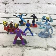 2005 Marvel X-Men Fantastic Four Zizzle Zizzlingers Figures Lot Of 7  - $19.79