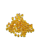76ct 4mm Swarovski crystal bicone- goldenrod - $11.99