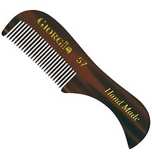 "Giorgio G57 2.75"" X-Small Men's Fine Toothed Beard and Moustache Combs Pocket Si image 5"