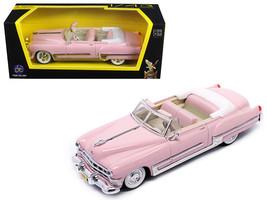 1949 Cadillac Coupe De Ville Pink 1/43 Diecast Model Car by Road Signature - $21.26