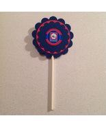 Nba Philadelphia 76ers Cupcake Topper party deco baseball birthday handm... - $12.00
