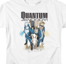 Quantum and Woody T Shirt Valiant Comics 1990s comic book graphic tee VAL182 image 2