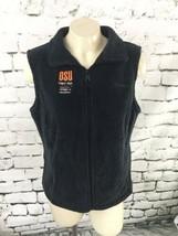 Columbia Sportswear Grey Vest OSU Womensz Sz M - $15.84