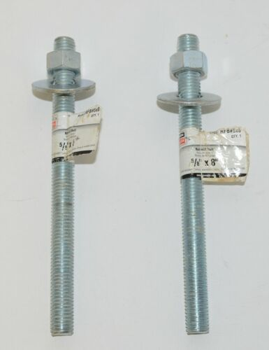 Simpson StrongTie RFB5x8 Two Retrofit Bolts Includes Nuts Washers
