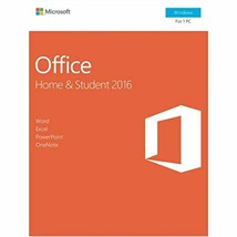 Microsoft Office Home and Student 2016   PC - $205.77